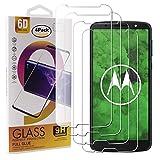 Guran 4 Pezzi Pellicola Protettiva in Vetro Temperato per Motorola Moto G6 Plus Smartphone 9H Durezza Anti-Impronte HD Alta Trasparenza Pellicola