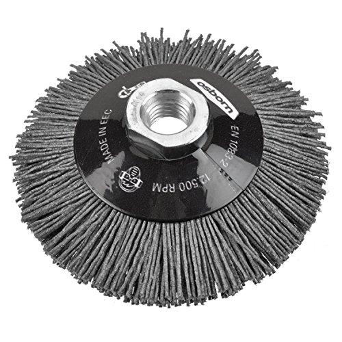 Osborn 6802622891 NEUHEIT Kegelbürste für Akku-Winkelschleifer, Durchmesser 100 mm