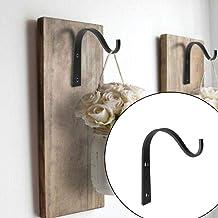 2 stks met 4 schroef metalen haken j-haak vintage muur hanger schroef haken voor badkamer keuken kamer doek handdoekenrek ...