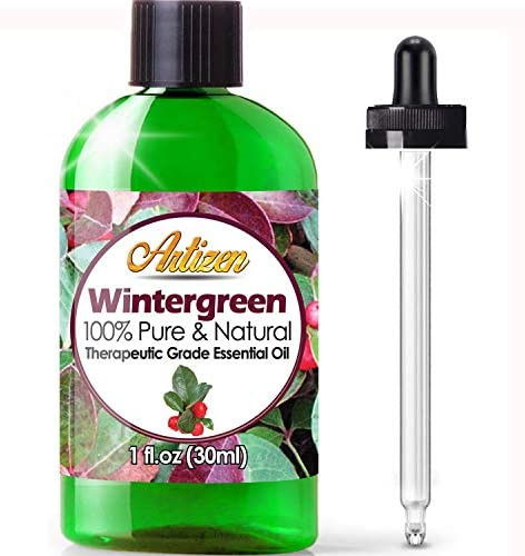 Artizen Wintergreen Essential Oil 100 Pure Natural Undiluted Therapeutic Grade Huge 1oz Bottle product image