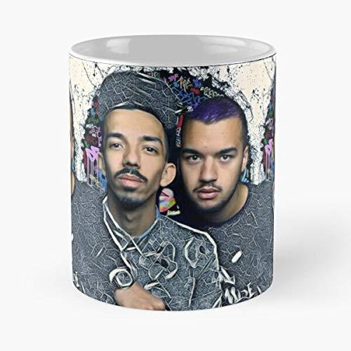 GrimDC Et Bigflo Oli Cadeau Tasse à café 11 oz
