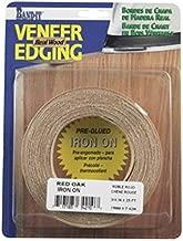Band-It 34210 Real Wood Veneer Iron-On Edgebanding, 3/4