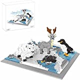 KGAYUC Bloques De Construcción De Niños, Micro Diamond Building Set, Penguin + Polar Bear + Reindeer Mini Building Blocks Model, Regalos Infantiles, (1880 PCS)