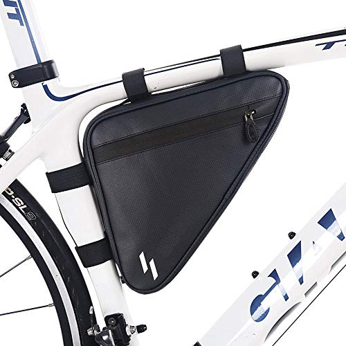CNCBT Mountain Bike Saddle Bag Large Space Design Waterproof Fabric Unblocked Design Scratch-Resistant and wear-Resistant, for Cycling