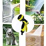 ARLT Five Boquilla Jardín Agua Agua Set Sprinkler Head Césped Riego Riego Spray Pulverizador de Cobre