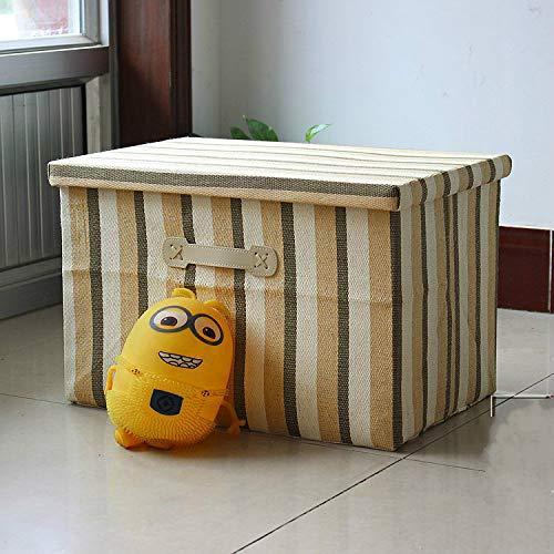 MIDUO - Caja de almacenamiento plegable para acabados, guantera, caja de almacenamiento, pajita y ropa de cama, No. 4 colores., Oversized 50 * 47 * 30cm