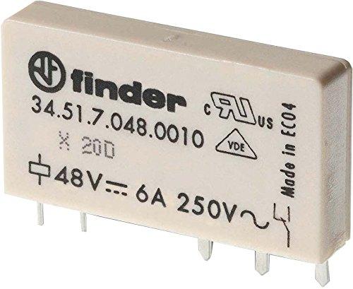 Finder 34.51.7.024.0000 Steck/Printrelais 24 V DC 1 W 6 A