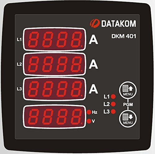 Best Prices! DATAKOM DKM-401 Digital Multimeter Panel, 96x96mm, 3 Phase