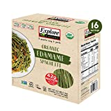 EXPLORE CUISINE Organic Edamame Pasta (2/1.1 LB) (Net Wt 2.2 LB), 2.2 lb