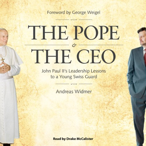 The Pope & The CEO audiobook cover art