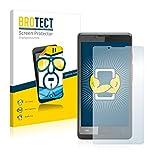 BROTECT Schutzfolie kompatibel mit Archos 40c Titanium (2 Stück) klare Bildschirmschutz-Folie