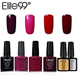 Elite99 Esmalte Semipermanente UV LED 6pcs Kit Uñas de Gel Pintauñas...