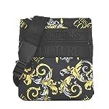 Versace - Bolsa para pantalones vaqueros de costura – E1YZAB64 LINEA MACROLOGO DIS.5