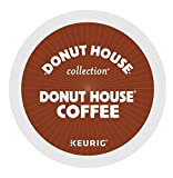 Donut House Coffee, K-Cup Portion Pack for Keurig K-Cup Brewers, Light Roast 12-Count (Pack of 3)