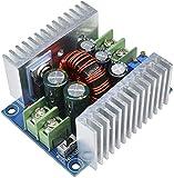 ZHITING Transformador de corriente continua de CC, 20 A, 300 W, módulo CV de descenso, DC 6-40 V hasta CC 1,2-36 V, voltaje regulable, corriente constante, fuente de alimentación