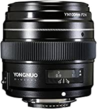 YONGNUO YN100mm F2N 1:2 AF MF Large Aperture Auto Prime Focus Lens for Nikon DSLR Cameras