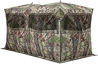 Barronett Blinds BE650BW Beast Pop Up Portable 6 Person Hunting Blind, Bloodtrail Backwoods Camo