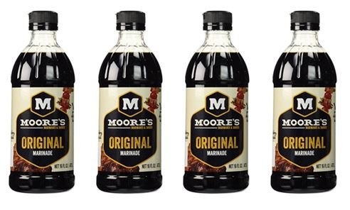 Moores Original Marinade 16-Ounce Pack 4 Spring new work one after another of years warranty