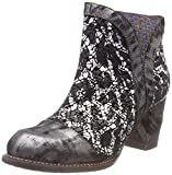 Laura Vita Women's Anna 1383 Ankle Boots, Black (Noir Noir), 4 UK