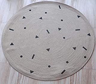 Q Baby Play Mat, Jute Play Mat Baby, Tummy Time Play Mat For Baby for Bedroom Living Room Games Room (Color : C)