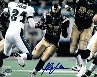 Marshall Faulk Autographed Signed St. Louis Rams 8x10 Photo