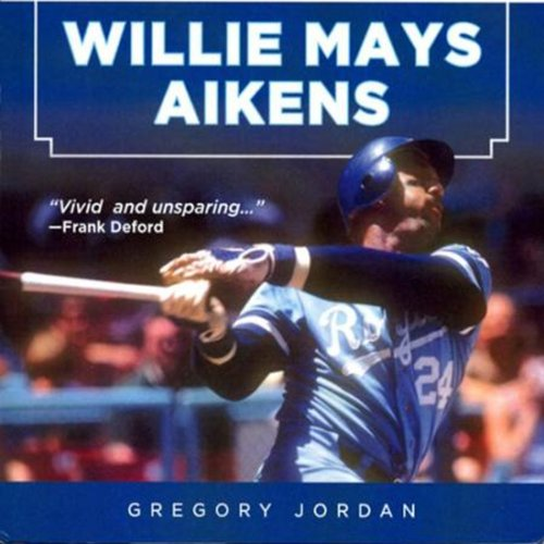 Willie Mays Aikens audiobook cover art