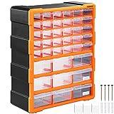 Monzana Organizador de herramientas 39 cajones para taller almacenamiento interior 78 compartimentos