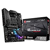 MSI MPG B550 GAMING PLUS マザーボード ATX [AMD B550 チップセット搭載] Ryzen 5000 シリーズプロセッサー MB5026