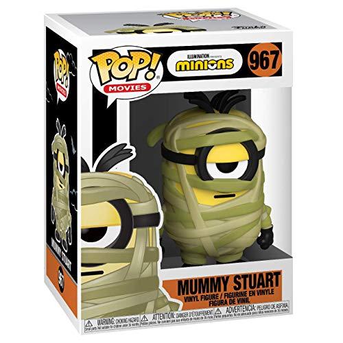 Funko- Pop Movies: Minions-Mu Mystery Minisy Stuart MuMystery Figurine de Collection, 49788, Multicolore