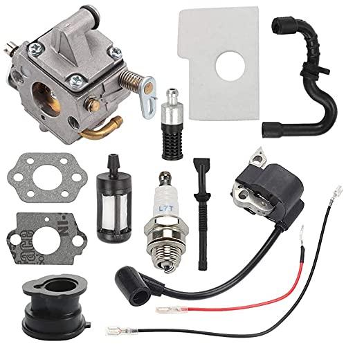 Varadyle El Carburador C1Q-S57B Es Adecuado para Sthil 170 Carburador de Motosierra MS 170 MS 180 017 018 MS 170C MS 180C Motosierra