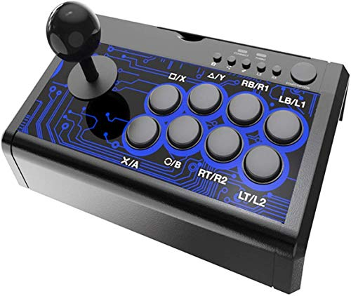 7 em 1 Arcade Fighting Wired Joystick para Switch / PS4 / PS3 / Xbox / Pc / Android