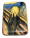 Fig Design Group Munch The Scream RFID Secure Data Theft Protection Credit Card Armored Wallet