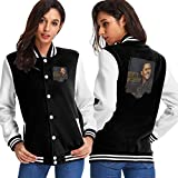 ChaseM Womens Scotty McCreery Seasons Change Baseball Jacket Stylish Uniform Hoodies Sweatshirt Coat Black XXL