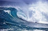海の波200ピースジグソーパズル 木製ジグソー脳チャレンジ