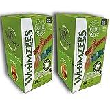 Whimzees Dog Treat, Variety Box, Small, 48 pack X 2 (96 Treats)