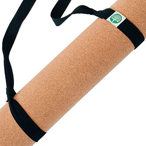 Virgin Pulp Best Cork Yoga Mat|Longer, Thicker & Wider|Natural Eco Rubber Non Toxic|Quality Yogamats for Men & Women Exercise| Non-Slip, Cushioned|76 x 26in x 5mm|Free Carrier Strap|Alignment Lines