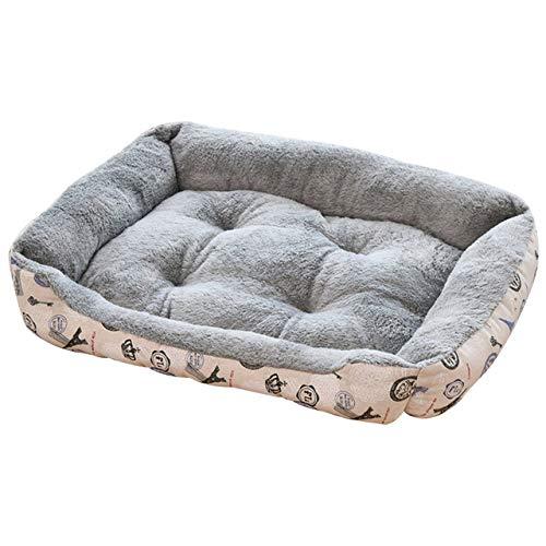 Page Adelasd Weiche Warme Starke Kurze Plüsch Samt Hund Bett Waschbar Hundehütte Tiefen Schlaf Hund Haus Samt Matte Sofa 2 80x60cm