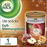 Air Wick Duft-Stimmungskerze, Winterlicher Zimttraum, 185g -