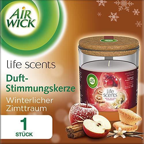 Air Wick Duft-Stimmungskerze, Winterlicher Zimttraum, 185g