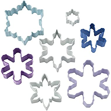 Wilton Snowflake Cookie Cutter Set, 7-Piece
