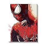 Hombre araña DIY Pintura por números DIY Pintura Al Óleo por...