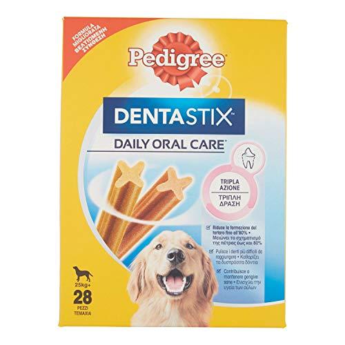 Pedigree Dentastix pour Grands Chiens (+25 kg) 1 Boîte de 28 Bâtonnets à Mâcher 1080 g