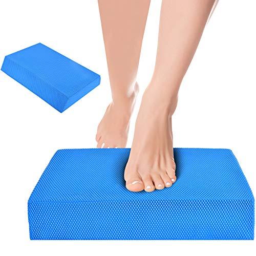 Balance Boards Foam Pad Yoga Mat, Non-Slip Cushioned Foam Large Knee Pads...