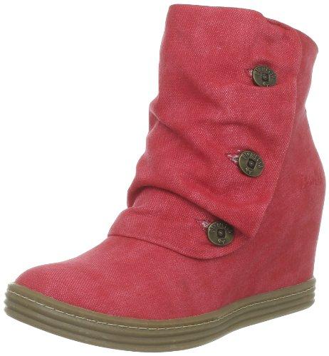 Blowfish Tabbit, Boots femme - Rouge (Red Snd Blst Canv 677), 39 EU