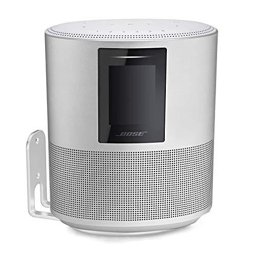 Vebos Soporte Pared Bose Home Speaker 500 Blanco Giratorio Experiencia óptima en Cada habitación - Le Permite Colgar su Bose Home Speaker 500 exactamente Donde lo Desea