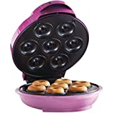 Brentwood Mini Donut Maker Machine, Non-Stick, Pink