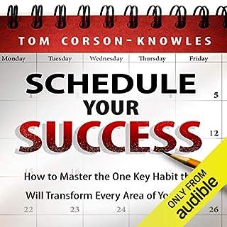 Schedule Your Success audiobook cover art