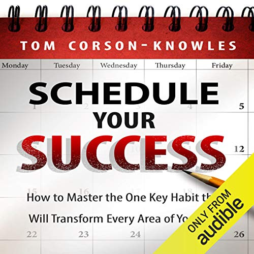 Schedule Your Success audiobook cover art