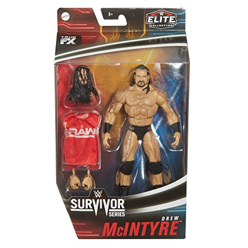 WWE Elite - Survivor Series 2020 - Drew Mcintyre Wrestling Figure