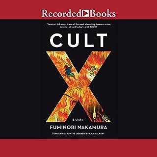Cult X audiobook cover art